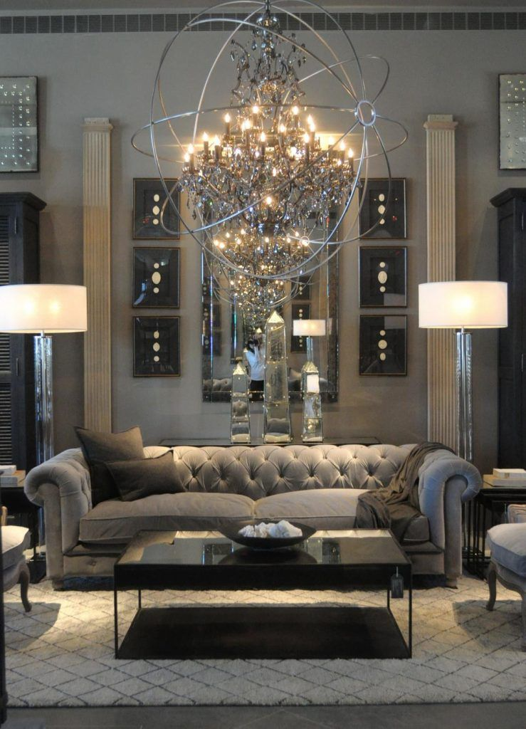 29 Living Room Interior Design: 29 Beautiful Black And Silver Living Room Ideas To Inspire