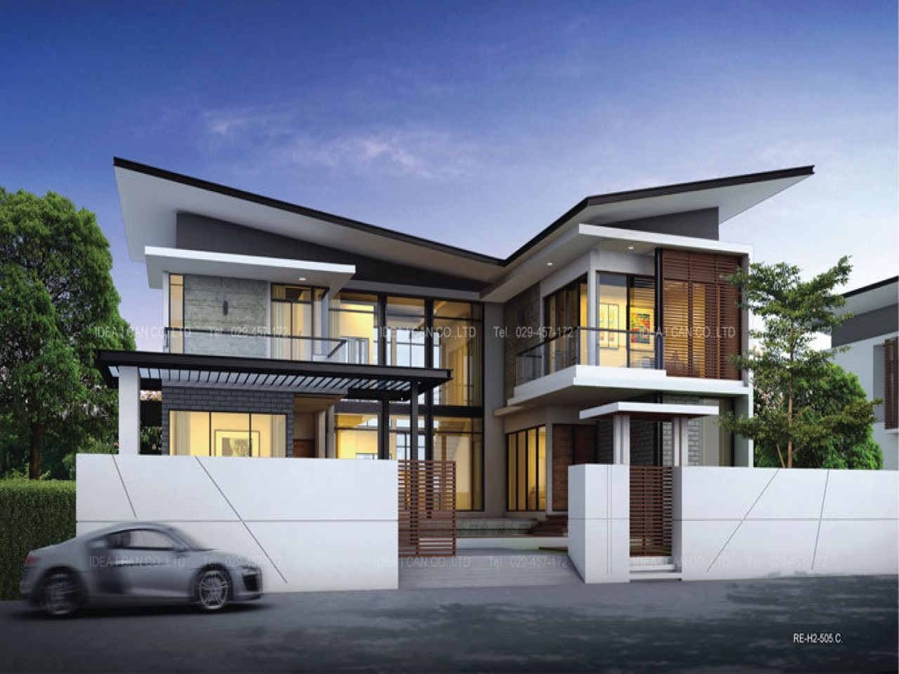 Two Storey House Designs Modern Plans Mexzhouse Single Story