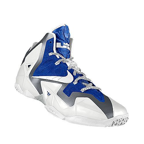 I designed the blue Kentucky Wildcats Nike men's basketball shoe.