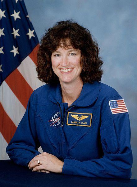 File:Laurel Clark, NASA photo portrait in blue suit.jpg/Iowa famous people.