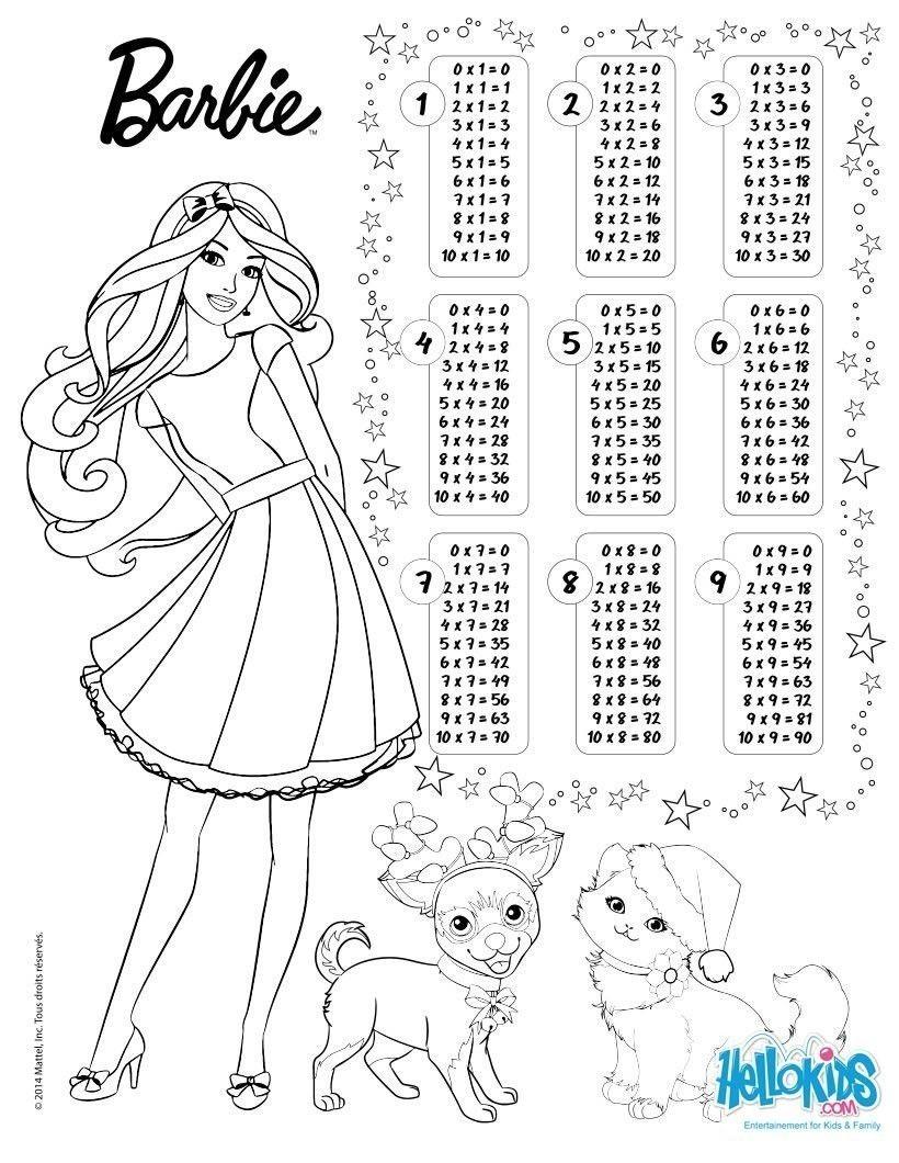 Tablas De Multiplicar Para Colorear Com Imagens Tabuada Capas