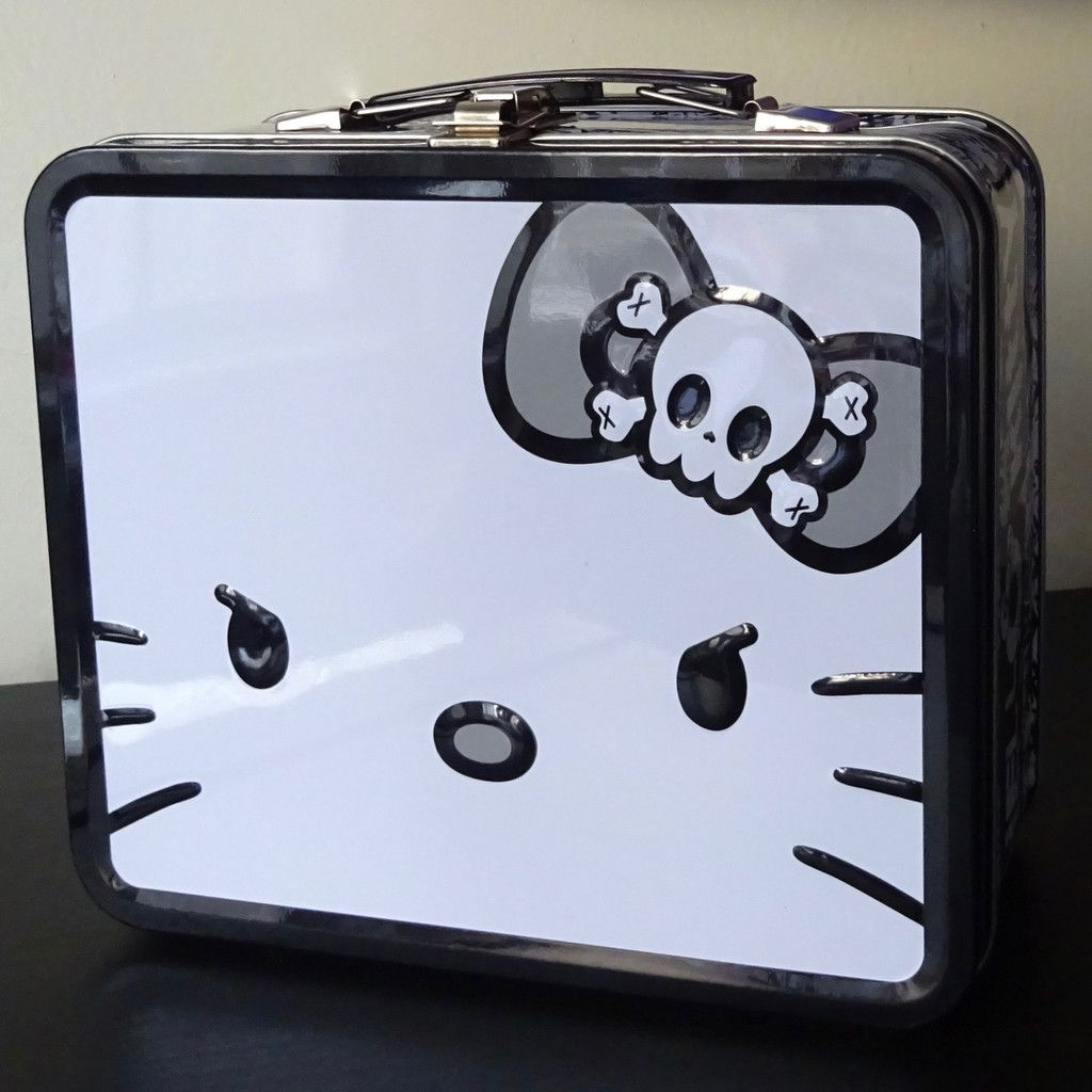 46b760034a Hello Angry Kitty Lunch Box