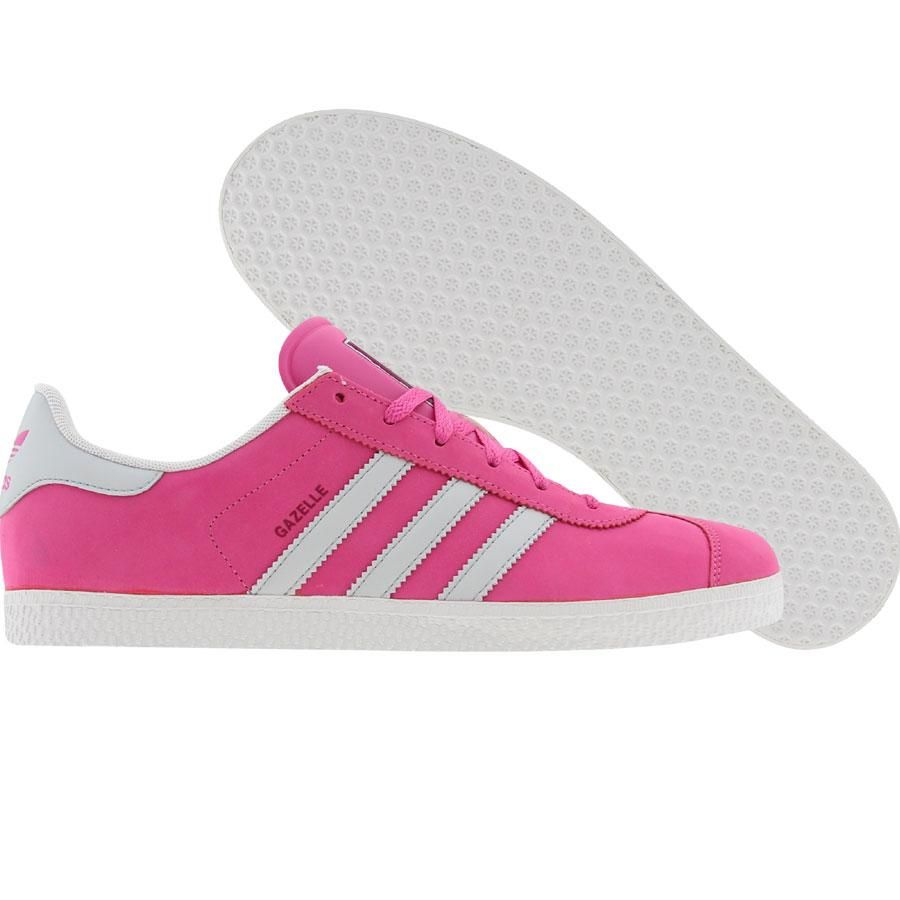 Adidas Gazelle 2 (cle pink / light grey / sol magenta) G47037 - $49.99