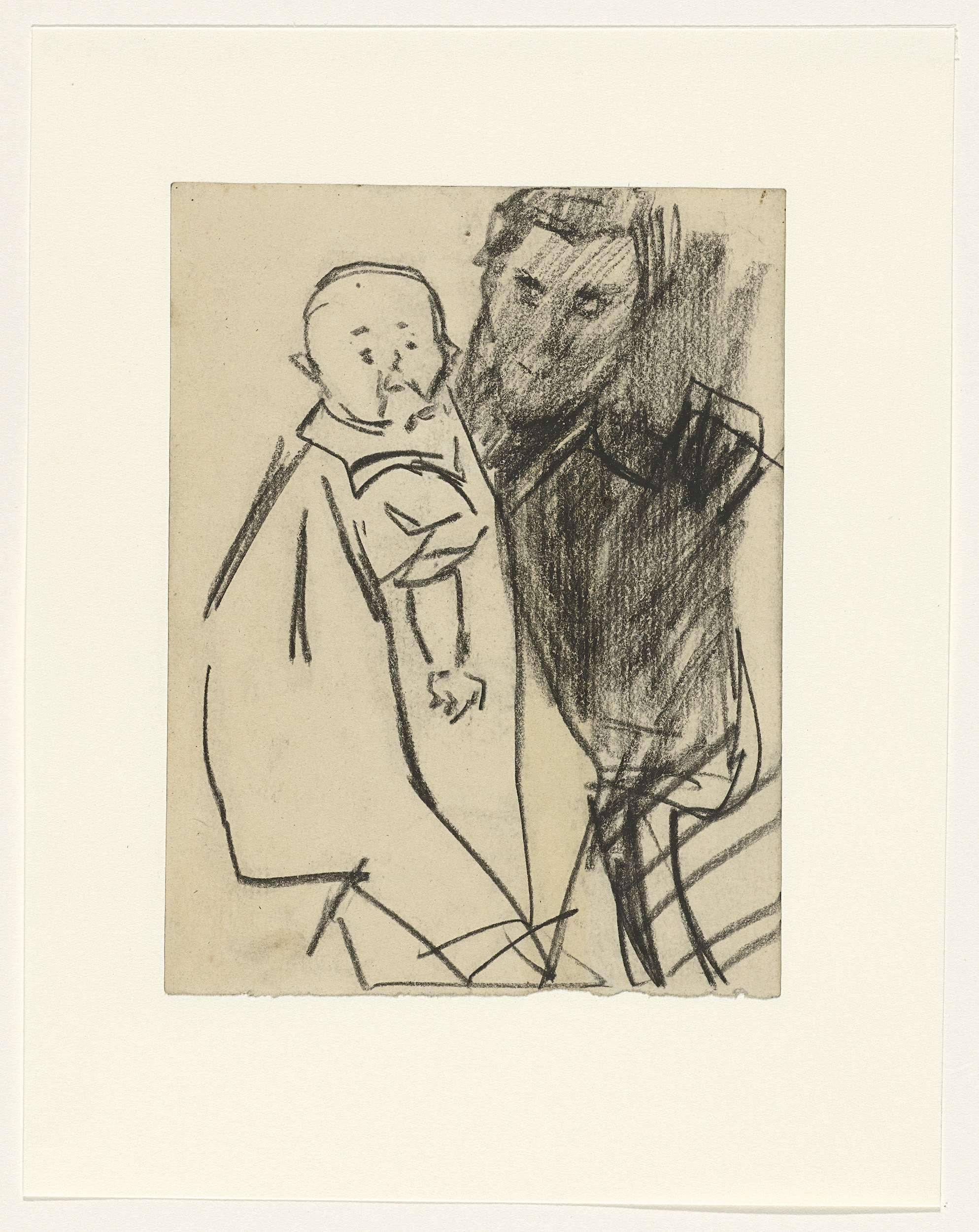 Isaac Israels | Moeder met kind, Isaac Israels, 1875 - 1934 |