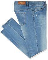 sheego Jeans Die Schmale Hose Pants Damen Used Look Denim Stretch Plusgröße
