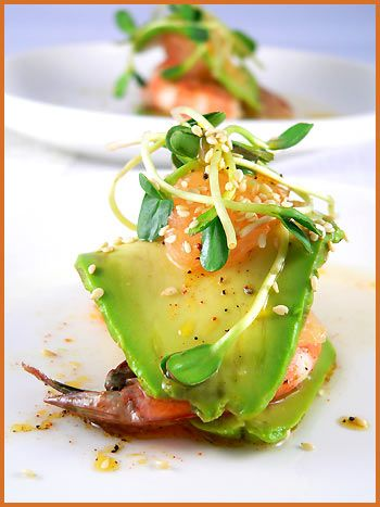 Avocado and Grapefruit Millefeuille — Millefeuille d'avocat et pamplemousse | La Tartine Gourmande
