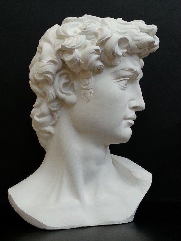 David Reduction Bust Item 96 Bust Sculpture Greek Statues Statue Tattoo