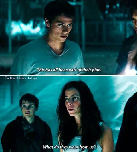 Thomas And Teresa Scene From The Scorch Trials