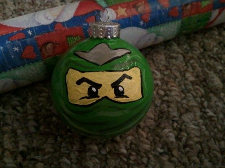 lego ninjago ornament