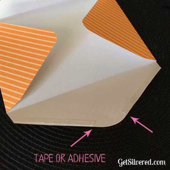 origami 7 envelope