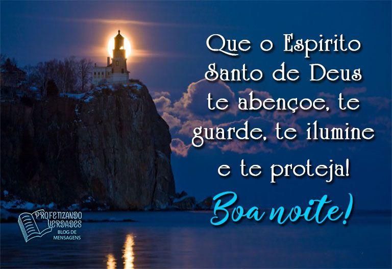 Que O Espirito Santo De Deus Te Abencoe Te Guarde Te Ilumine