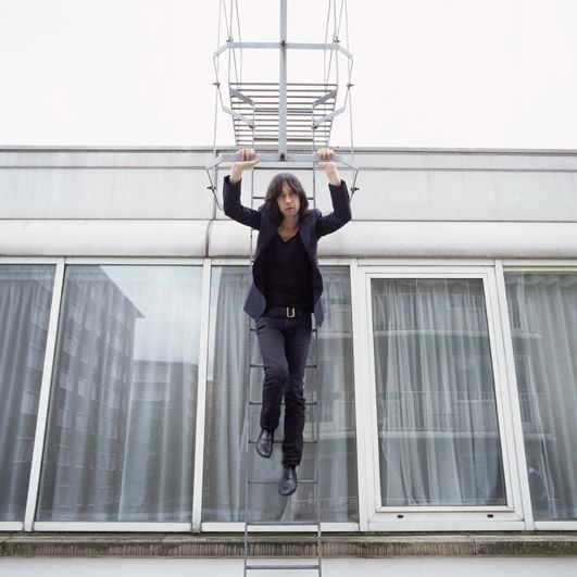 Love this shot of Bobby Gillespie