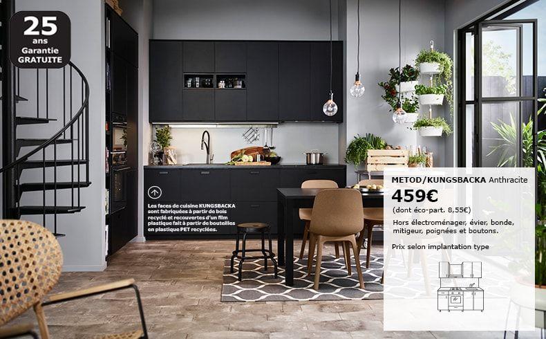 Cuisine Equipee Pas Cher Moderne Sur Mesure Et Design Ikea Salle A Manger Ikea Location De Meubles Cuisine Moderne