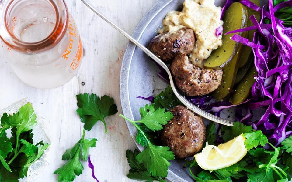 Lamb Kofta Plate Recipe Greek Food Traditional Lamb Recipes Diet Recipes