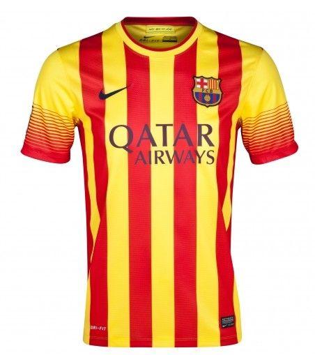 Barcelona 2013 14 Camiseta fútbol Segunda Equipación  323  - €16.87    Camisetas de futbol baratas online! 559a55c38dd15
