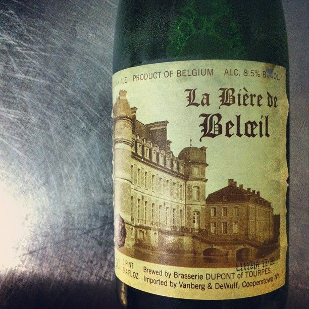 "@thequeenskickshaw's photo: ""We're looking forward to tasting this bottle of La Biere de Beloeil, thank you @grapesandgrains!"""