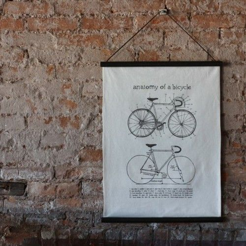 Exposed bricks & bikes. Always a great choice! -★-