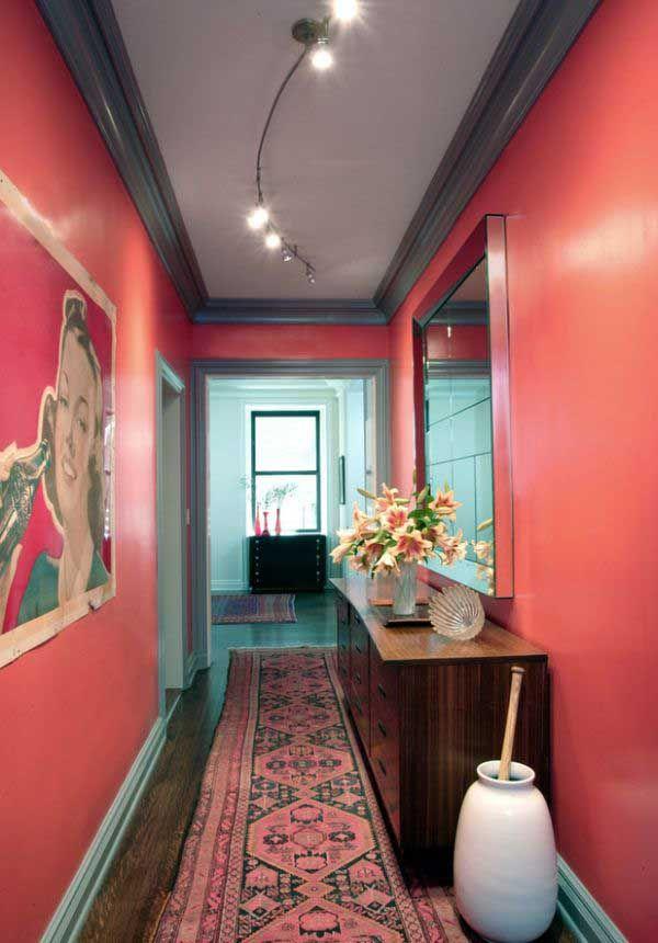 ideas para pintar un pasillo