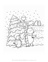 Winter Coloring Pages Coloring Pages Winter Pictures Colorful