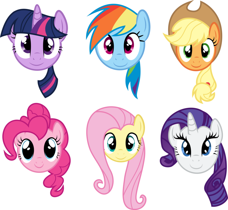 Main Six Faces | horses and unicorns face paint | Pinterest | Cumple ...
