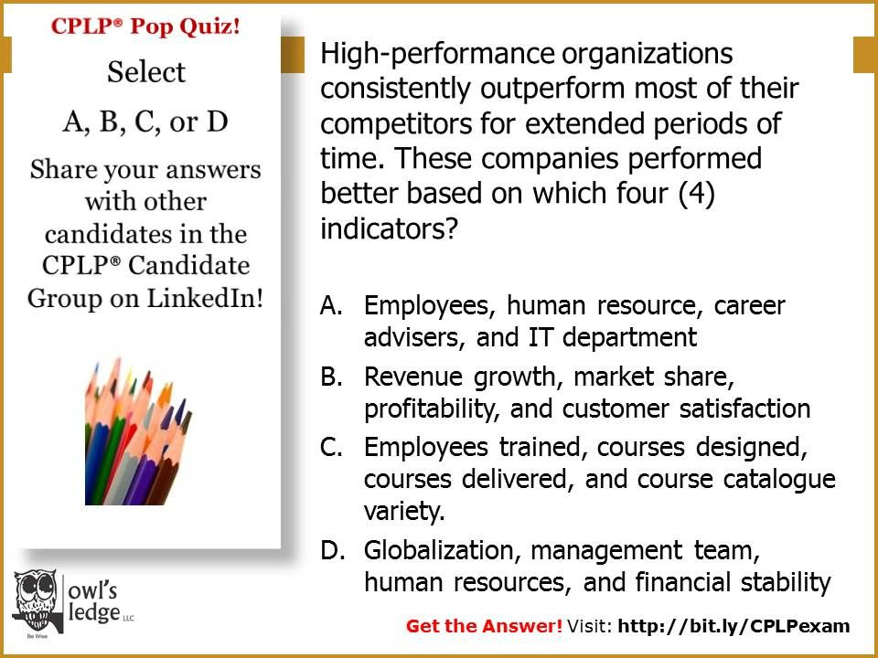 Cplp Practice Exam Test Yourself On Integrated Talent Management Ready For The Answer Studying Prep Practice Testing Talent Development