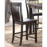 $166.20  McFerran Home Furnishings - Counter Height Side Chair in Dark Cherry (Set of 2) - MCFD4601-CS