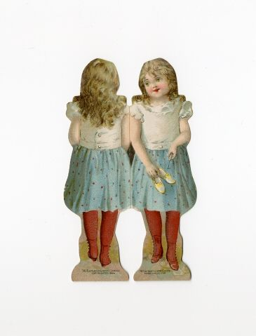 86.7484: PROGRESSIVE doll | paper doll | Paper Dolls | Dolls | Online Collections | The Strong