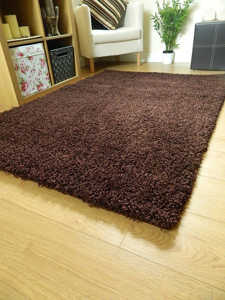 Details About Small X Large Size Thick Plain Soft Shaggy Rug Non Shed 5cm Pile Modern Rugs Shaggy Rug Rugs Modern Rugs