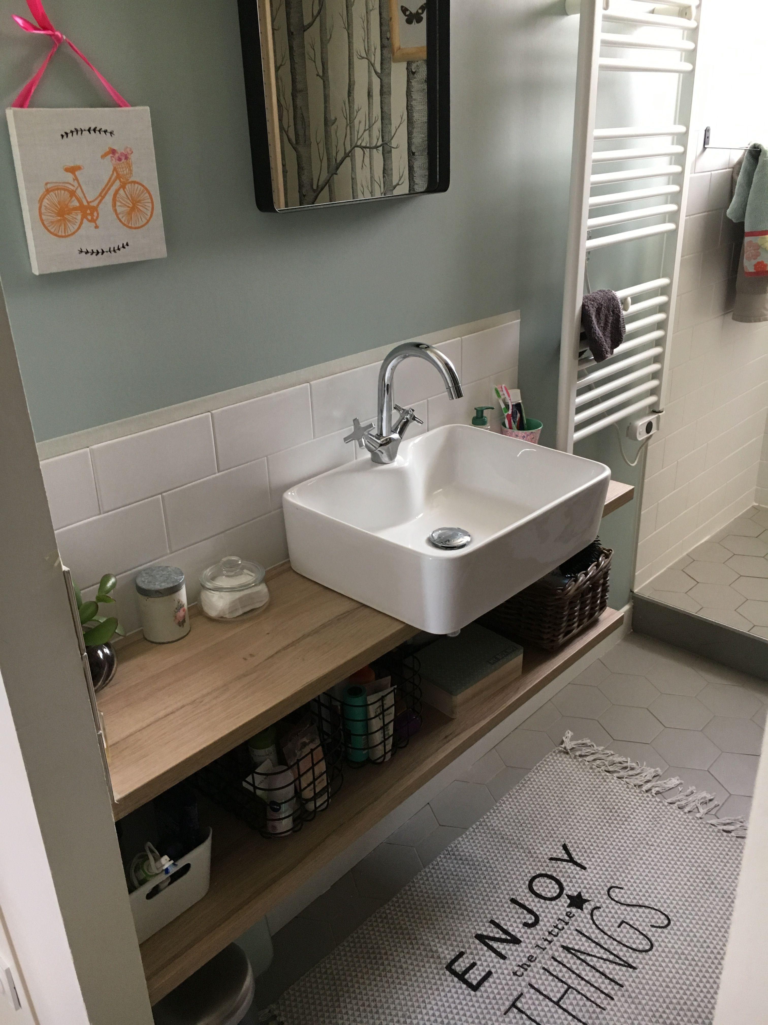 Salle De Bain Plan Vasque Bois ~ vasque poser salle de bain plan vasque bois chambre parent