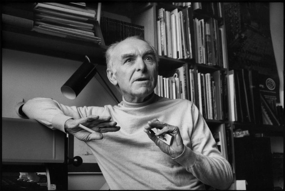 Henri CARTIER-BRESSON :: Robert Doisneau, Paris, 1986