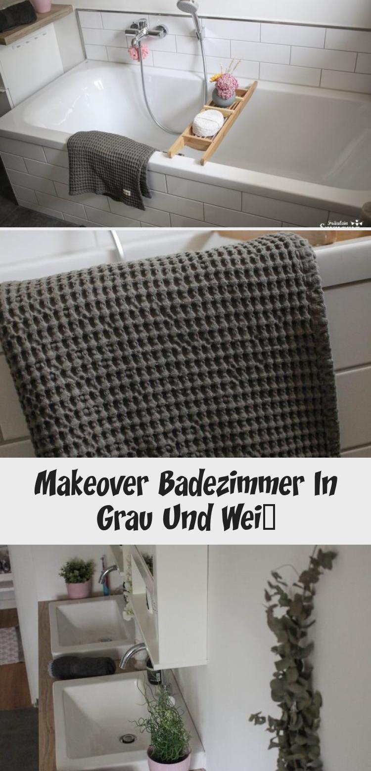Makeover Badezimmer In Grau Und Weiss Home Decor Bathroom Art Decor