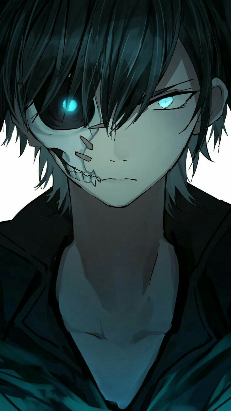 Hey Do You Feel Scared Hahaha I Know That As Well I Am Half A Monster Half Of Human Dark Anime Dark Anime Guys Cool Anime Guys
