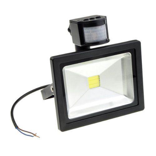 Bestdealusa Ac 85 265v 20w Cool White Pir Sensor Motion Detector Led Flood Light New By Bestdealusa Motion Sensor Lights Outdoor Led Flood Lights Flood Lights