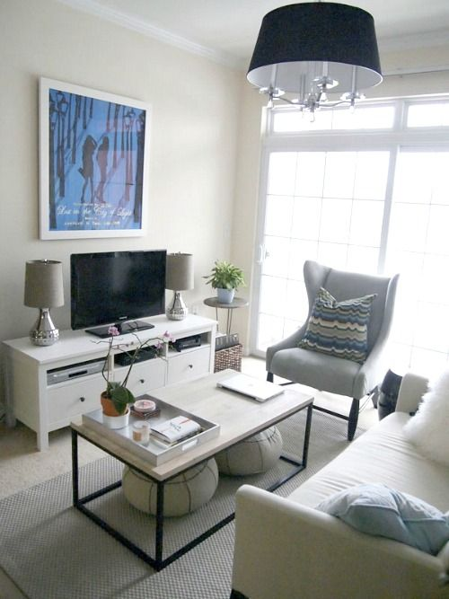 Cozy Little House: Ideas For Small Living Room Furniture Arrangements