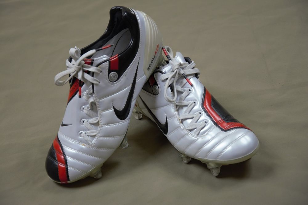 e75f26420b748 Nike Air Zoom Total 90 Supremacy SG Football Boots White Red Size UK 6.5 EU  40.5