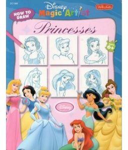 How to draw Disney Princesses! ^_^