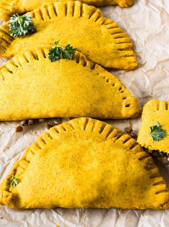 Jamaican Lentil Patties Gluten Free Vegan Recipe In 2018 Work