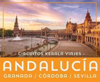 Viaje por Andalucía, Sevilla, Granada y Córdoba te esperan en un circuito único