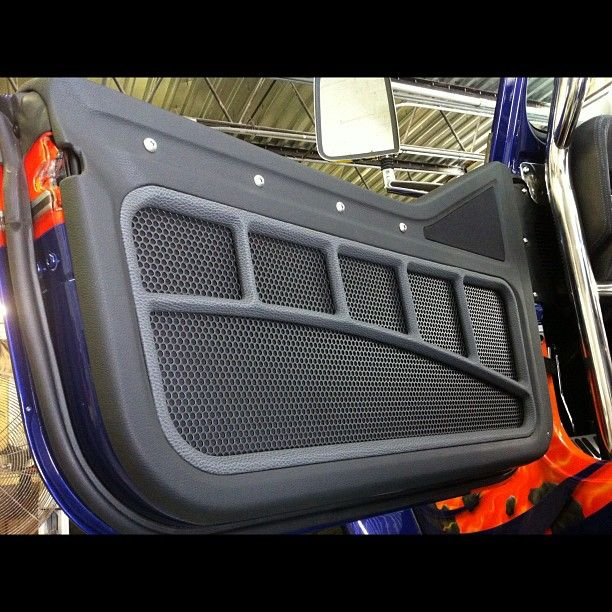 Car Door Panel : Door upholstery colored quot d roll at top of