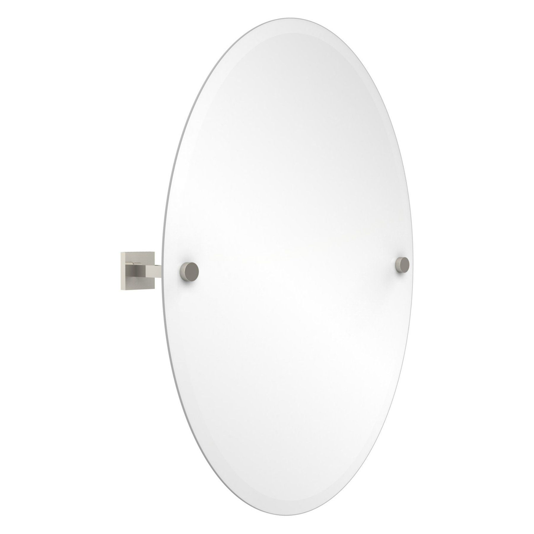 Uttermost Pursley Brushed Nickel Oval Mirror Primitiverusticdecor Oval Mirror Bathroom Oval Mirror Framed