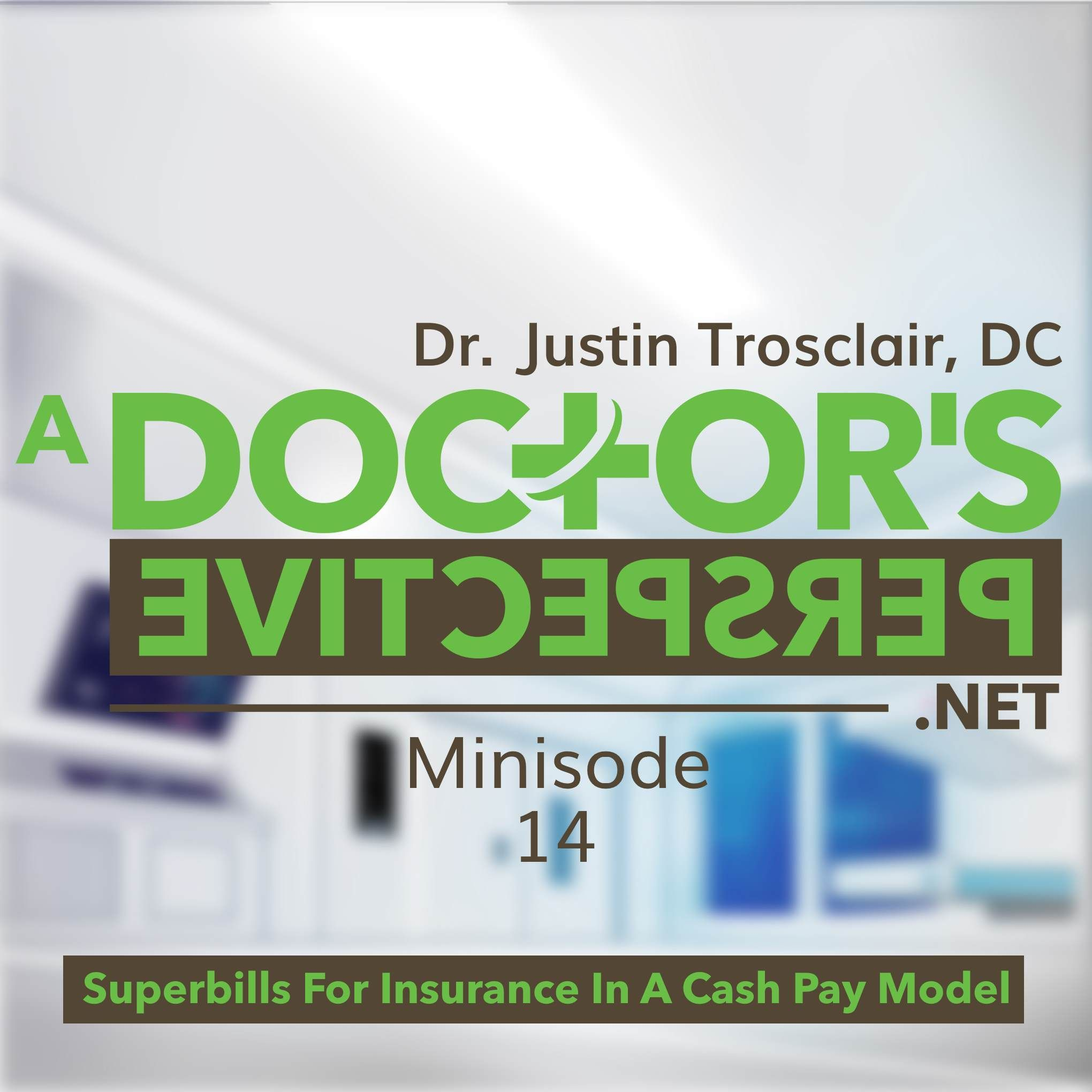 M 14 superbills for insurance in a cash pay model with