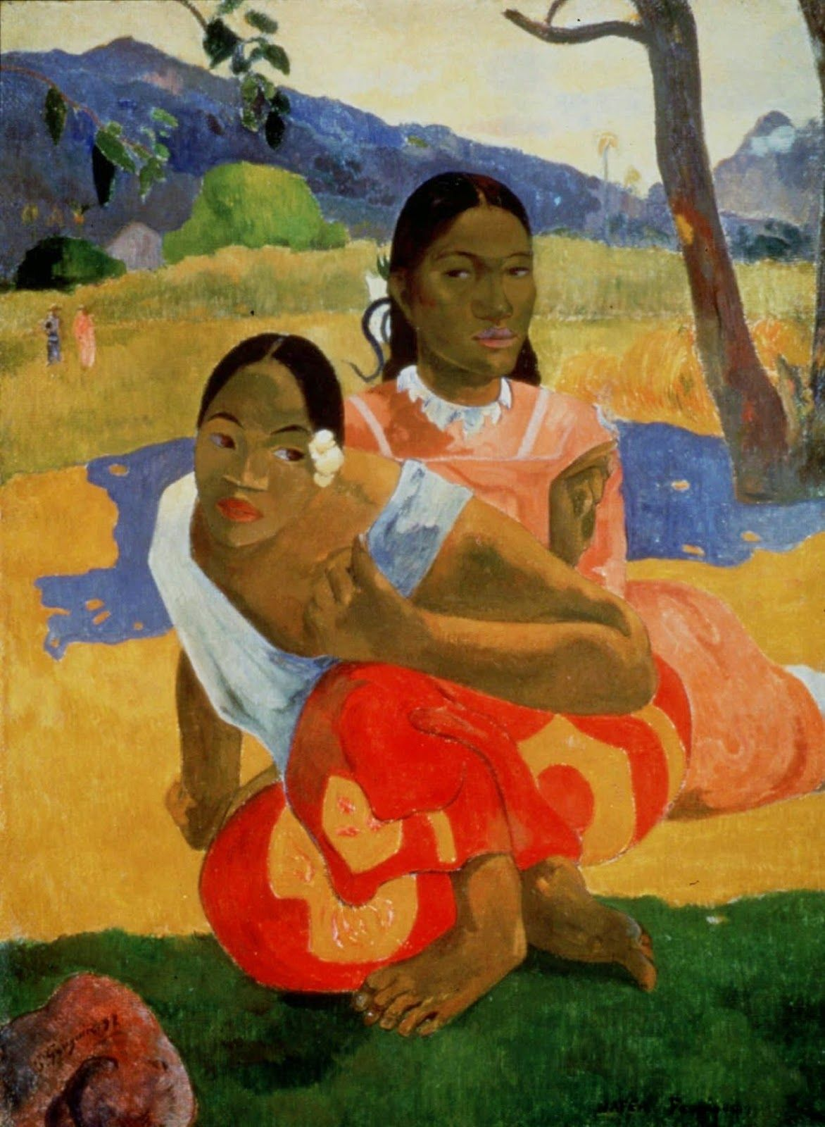 As 50 Pinturas Mais Famosas Do Mundo Paul Gauguin Pinturas