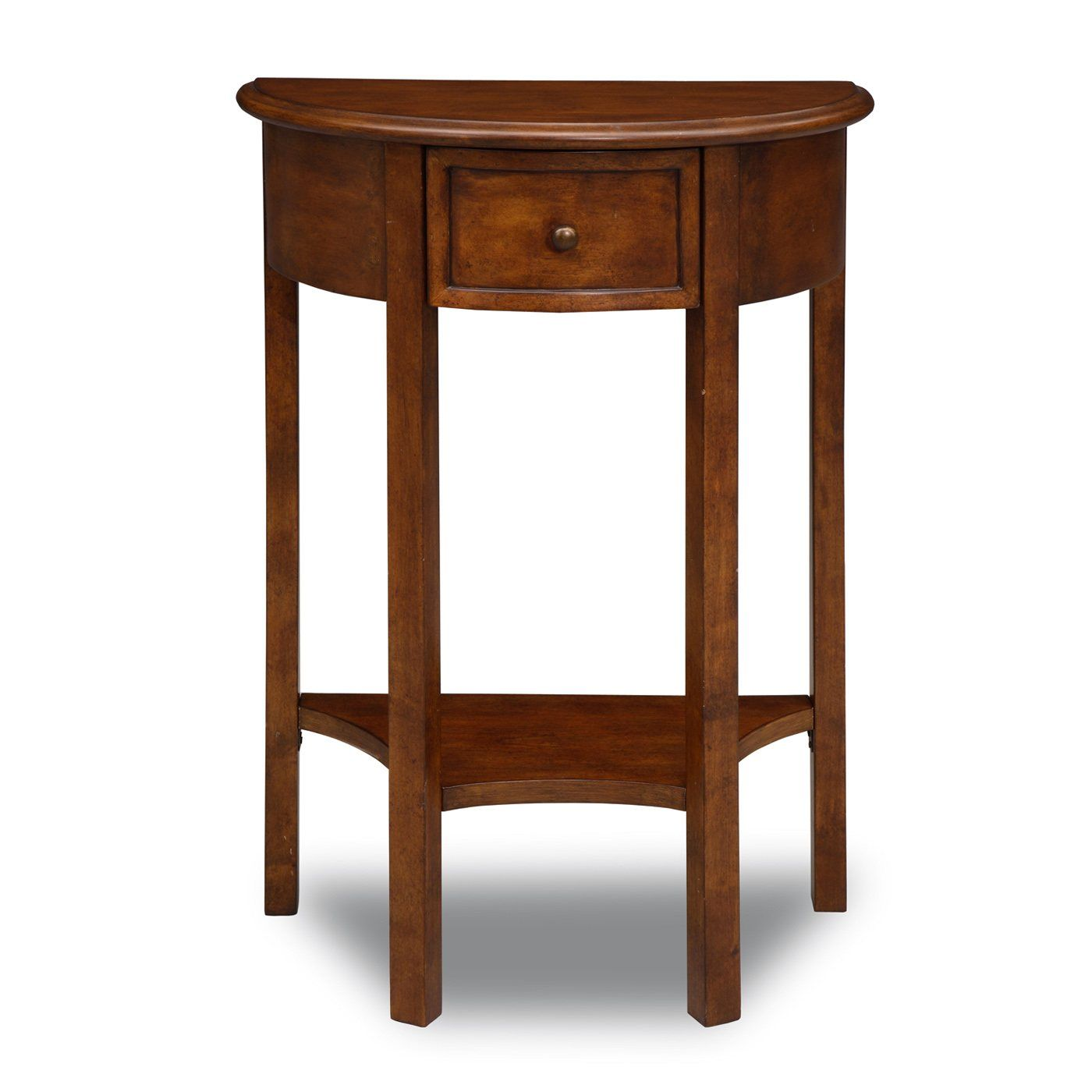 Leick 9030 Favorite Finds Demilune Hall Stand Entry Table Home Furniture Showroom Hall Stand