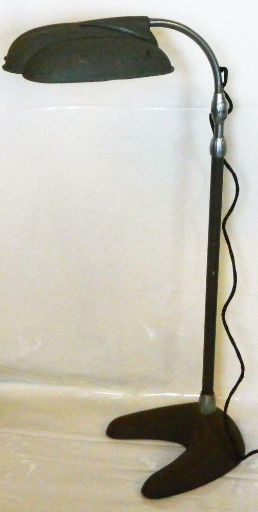 Vintage Sperti S 200 Industrial Adjustable Floor Lamp Heat Sun Irradiation Art Deco Antique Mcm Retro Metal Cas Adjustable Floor Lamp Floor Lamp Lamp