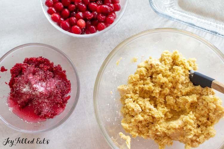 Cranberry Bliss Bars Low Carb Keto Gluten Free Joy Filled