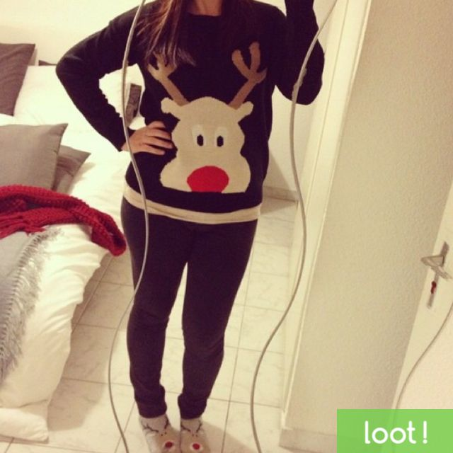 Take a photo using Loot App modeling the ugliest Christmas sweater you can find & get a cash reward! http://lksn.se/loot #Christmas #ChristmasSweater #Sweater #UglySweaterContest #UglyChristmasSweater