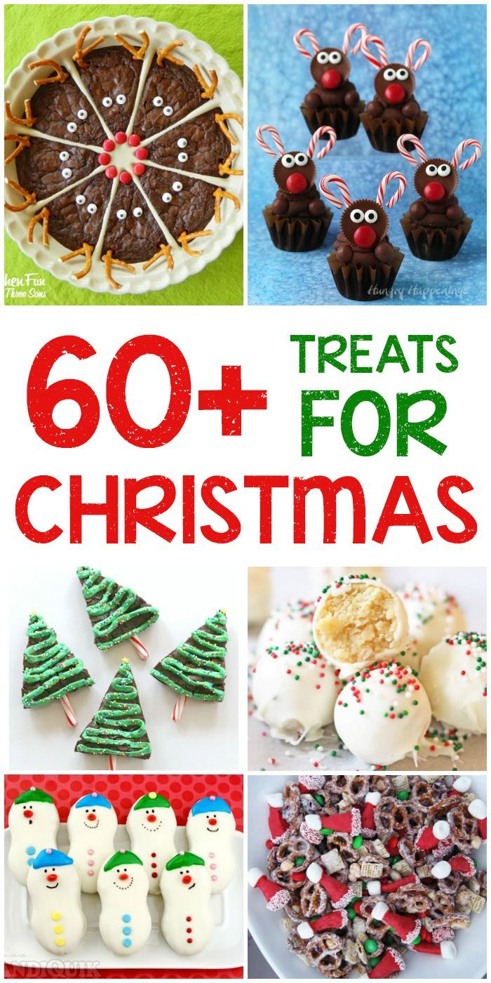 60+ of the Best Christmas Treats - holiday cookies, snacks, desserts ...