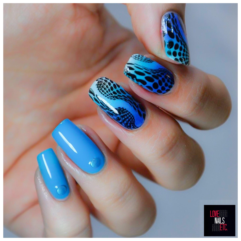 Illusion & Dégradé par Love Nails Etc   Stamping Nail art ...