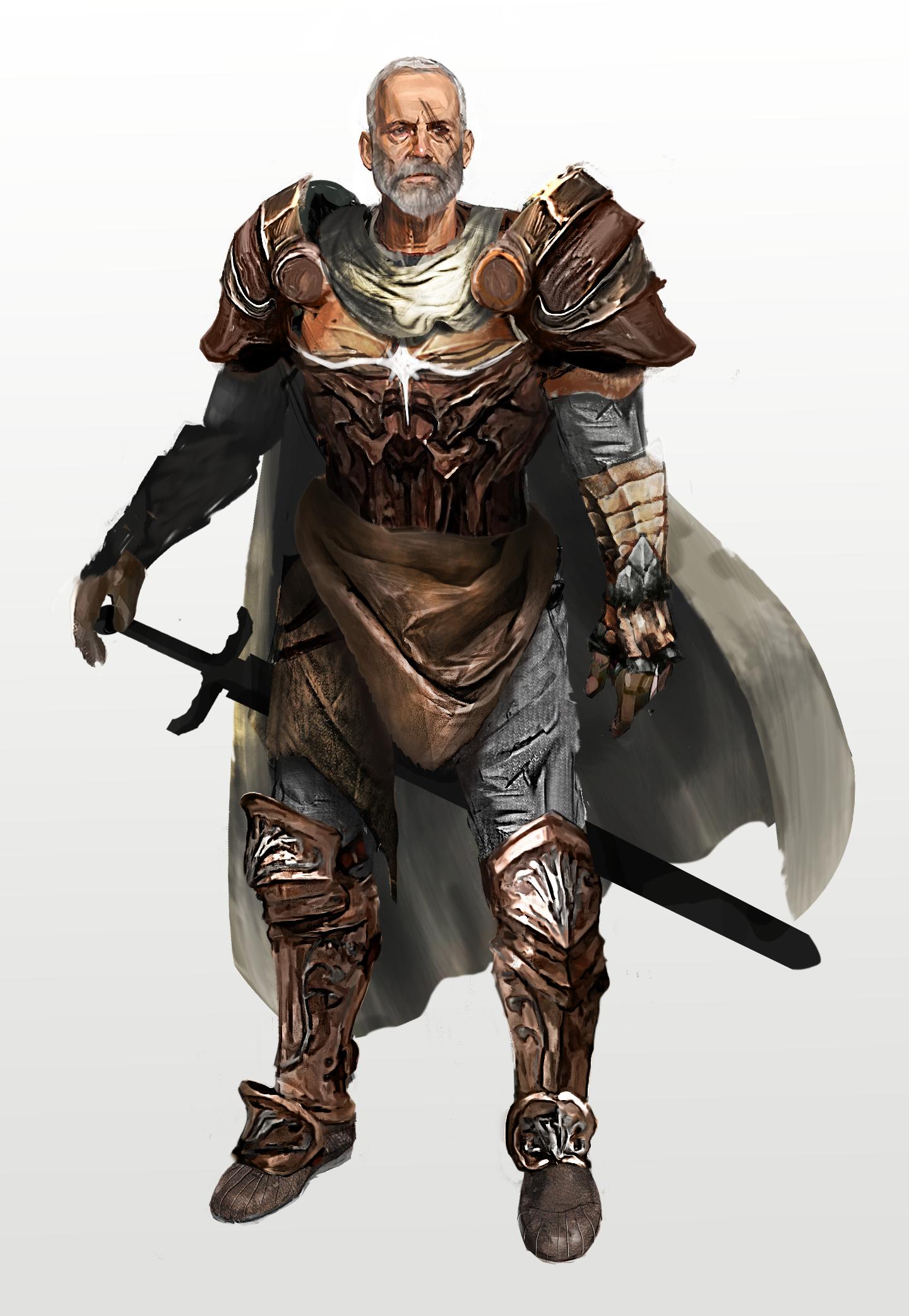 D D Character Design : D e lost mine of phandelver human fighter sildar
