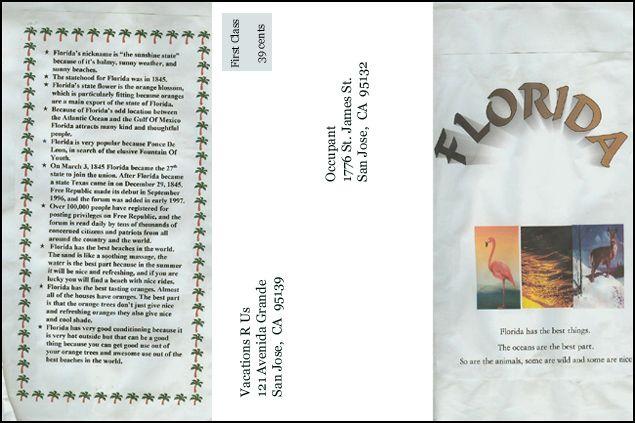 Travel Brochure Example   Florida  Move Manila Design